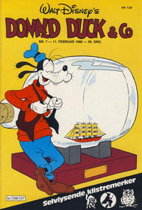 Cover Thumbnail for Donald Duck & Co (Hjemmet / Egmont, 1948 series) #7/1986