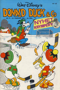 Cover Thumbnail for Donald Duck & Co (Hjemmet / Egmont, 1948 series) #9/1986