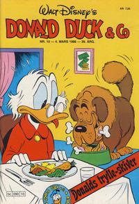 Cover Thumbnail for Donald Duck & Co (Hjemmet / Egmont, 1948 series) #10/1986