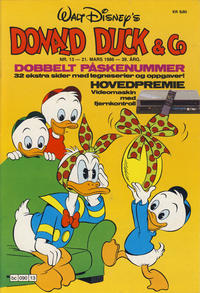 Cover Thumbnail for Donald Duck & Co (Hjemmet / Egmont, 1948 series) #13/1986