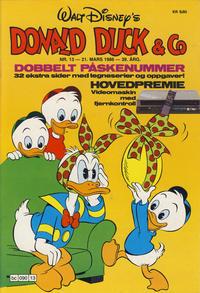Cover Thumbnail for Donald Duck & Co (Hjemmet / Egmont, 1948 series) #13/1986
