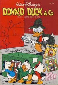 Cover Thumbnail for Donald Duck & Co (Hjemmet / Egmont, 1948 series) #15/1986