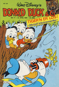 Cover Thumbnail for Donald Duck & Co (Hjemmet / Egmont, 1948 series) #17/1986