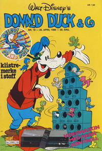 Cover Thumbnail for Donald Duck & Co (Hjemmet / Egmont, 1948 series) #18/1986