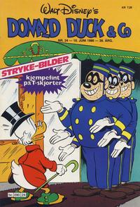Cover Thumbnail for Donald Duck & Co (Hjemmet / Egmont, 1948 series) #24/1986