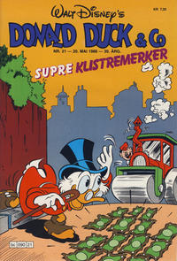 Cover Thumbnail for Donald Duck & Co (Hjemmet / Egmont, 1948 series) #21/1986