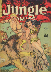 Cover Thumbnail for Jungle Comics (H. John Edwards, 1950 ? series) #24