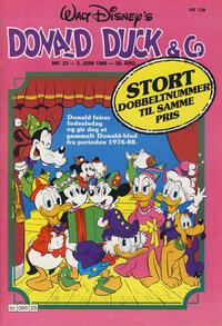 Cover Thumbnail for Donald Duck & Co (Hjemmet / Egmont, 1948 series) #23/1986