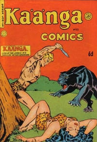 Cover Thumbnail for Kaänga Comics (H. John Edwards, 1950 ? series) #25