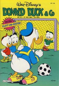 Cover Thumbnail for Donald Duck & Co (Hjemmet / Egmont, 1948 series) #22/1986