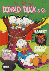 Cover Thumbnail for Donald Duck & Co (Hjemmet / Egmont, 1948 series) #25/1986