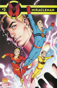 Cover Thumbnail for Miracleman (Marvel, 2014 series) #2 [Alan Davis color variant]