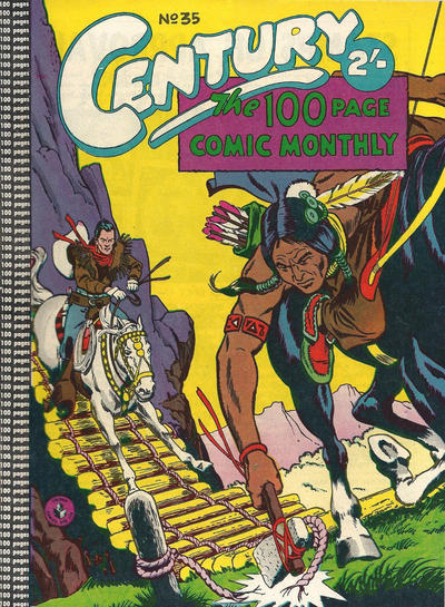 Cover for Century, The 100 Page Comic Monthly (K. G. Murray, 1956 series) #35