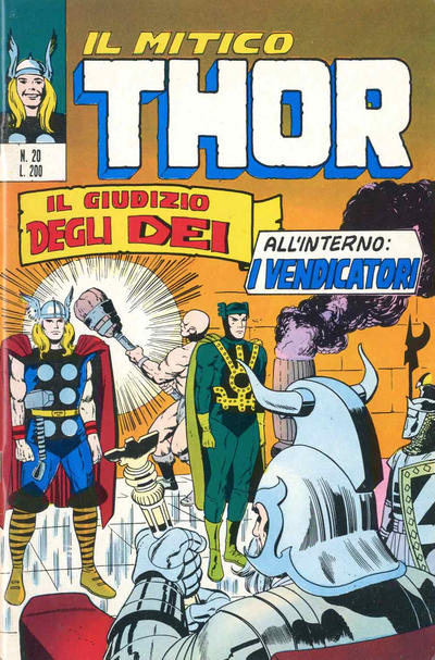 Cover for Il Mitico Thor (Editoriale Corno, 1971 series) #20