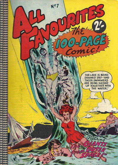 Cover for All Favourites, The 100-Page Comic (K. G. Murray, 1957 ? series) #7
