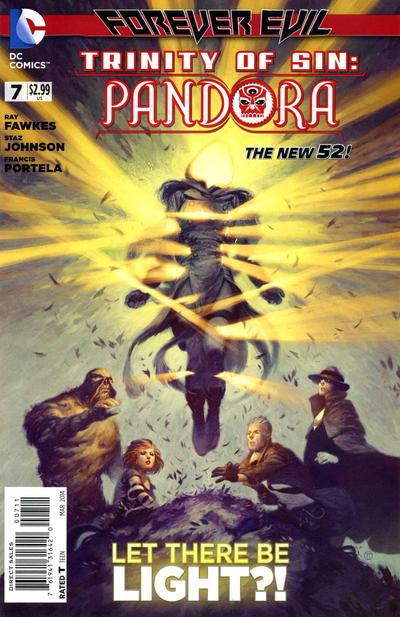 Cover for Trinity of Sin: Pandora (DC, 2013 series) #7