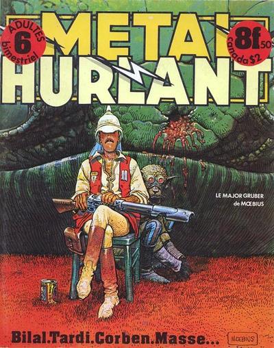 Cover for Métal Hurlant (Les Humanoïdes Associés, 1975 series) #6
