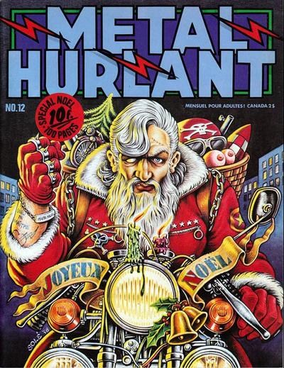 Cover for Métal Hurlant (Les Humanoïdes Associés, 1975 series) #12
