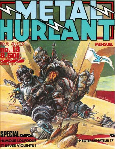 Cover for Métal Hurlant (Les Humanoïdes Associés, 1975 series) #13