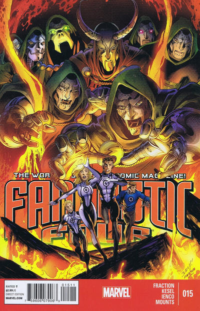 Cover for Fantastic Four (Marvel, 2013 series) #15
