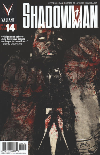 Cover for Shadowman (Valiant Entertainment, 2012 series) #14 [Cover A - Roberto de la Torre]