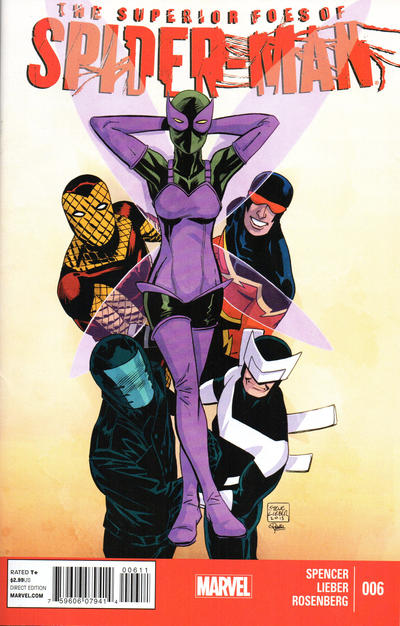 Cover for The Superior Foes of Spider-Man (Marvel, 2013 series) #6