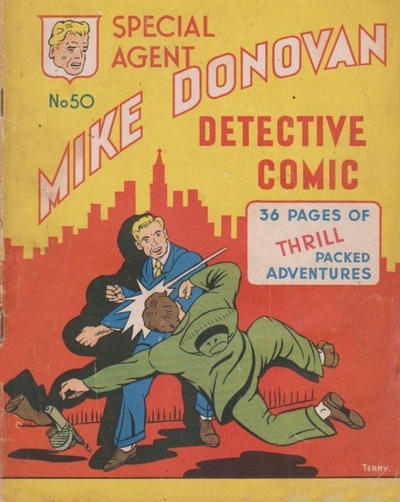 Cover for Special Agent Mike Donovan Detective Comic (Arnold Book Company, 1950 ? series) #50