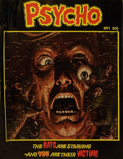 Cover for Psycho (Yaffa / Page, 1976 series) #1