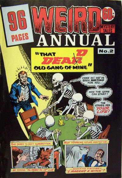 Cover for Weird Mystery Tales Annual (K. G. Murray, 1975 series) #2