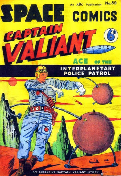 Cover for Space Comics (Arnold Book Company, 1953 series) #59