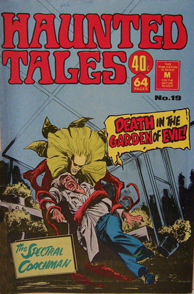 Cover for Haunted Tales (K. G. Murray, 1973 series) #19
