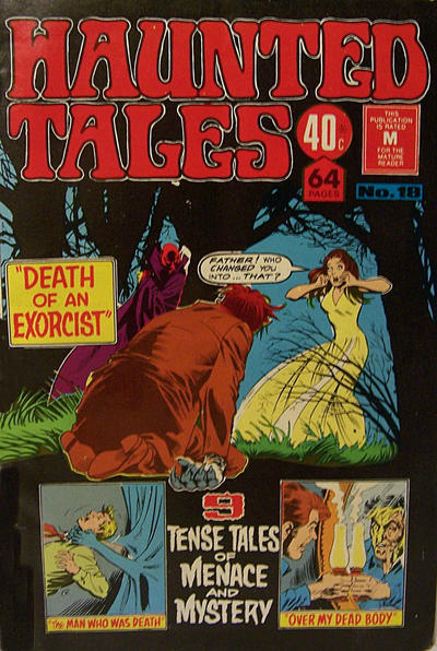 Cover for Haunted Tales (K. G. Murray, 1973 series) #18
