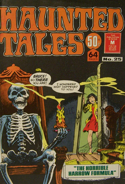 Cover for Haunted Tales (K. G. Murray, 1973 series) #25