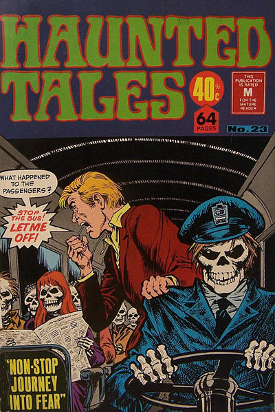 Cover for Haunted Tales (K. G. Murray, 1973 series) #23