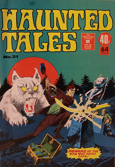 Cover for Haunted Tales (K. G. Murray, 1973 series) #21