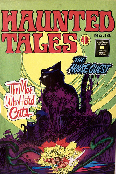 Cover for Haunted Tales (K. G. Murray, 1973 series) #14