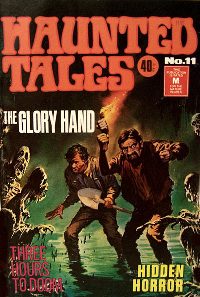 Cover for Haunted Tales (K. G. Murray, 1973 series) #11