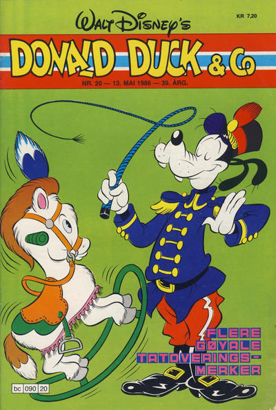 Cover for Donald Duck & Co (Hjemmet / Egmont, 1948 series) #20/1986
