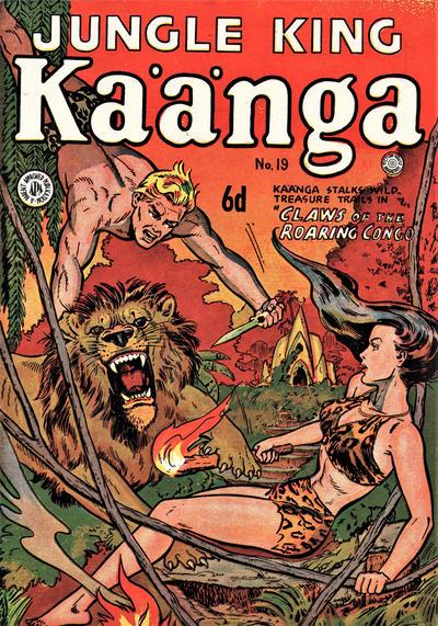 Cover for Kaänga Comics (H. John Edwards, 1950 ? series) #19