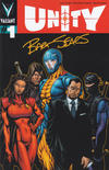 Cover for Unity (Valiant Entertainment, 2013 series) #1 [Cover J - Bart Sears Cover]