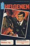 Cover for Helgenen (Nordisk Forlag, 1973 series) #1/1974