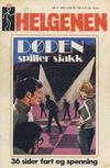 Cover for Helgenen (Nordisk Forlag, 1973 series) #9/1974