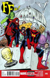 Cover for FF (Marvel, 2013 series) #16