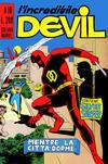 Cover for L' Incredibile Devil (Editoriale Corno, 1970 series) #10