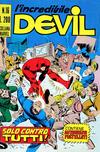 Cover for L' Incredibile Devil (Editoriale Corno, 1970 series) #16
