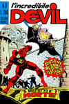 Cover for L' Incredibile Devil (Editoriale Corno, 1970 series) #17