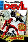 Cover for L'Incredibile Devil (Editoriale Corno, 1970 series) #17