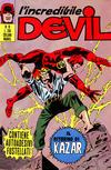 Cover for L' Incredibile Devil (Editoriale Corno, 1970 series) #19