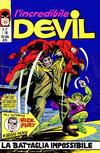 Cover for L' Incredibile Devil (Editoriale Corno, 1970 series) #27