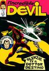 Cover for L' Incredibile Devil (Editoriale Corno, 1970 series) #33